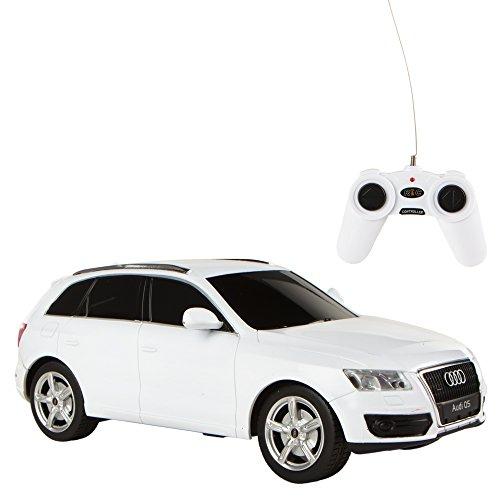 Rastar - Coche teledirigido 1:24, Audi Q5 blanco (ColorBaby 41140)