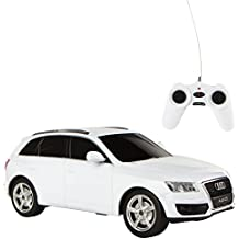 Rastar  - Coche teledirigido Audi Q5, escala 1:24, color blanco (41140)