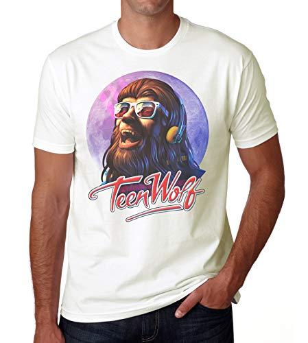 Men's Teen Wolf Michael J Fox Movie T-shirt