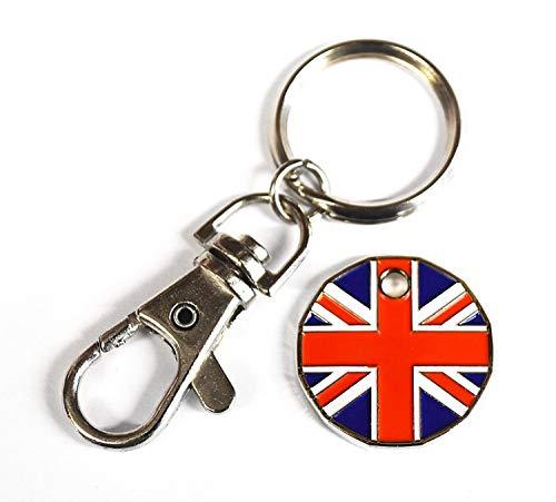 1Einheit Neue Form £1Münze Trolley Spielsteine Schlüsselanhänger