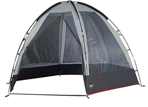 High Peak Siero Tente hexagonale Grey Clair/Gris Foncé 300 x 265 x 190 cm