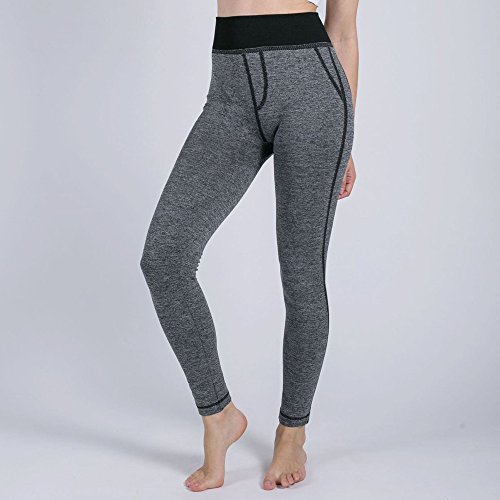 Felicove Damen Lange Leggings, Beiläufig Athletische Hose Yoga Sport Pants Sportswear Style Hose Workout Trainingshose Hüfthose Strumpfhose Leggins With Falsche Tasche