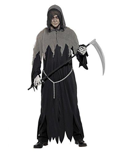 Dunkle Grim Reaper Robe für die Halloween Party -