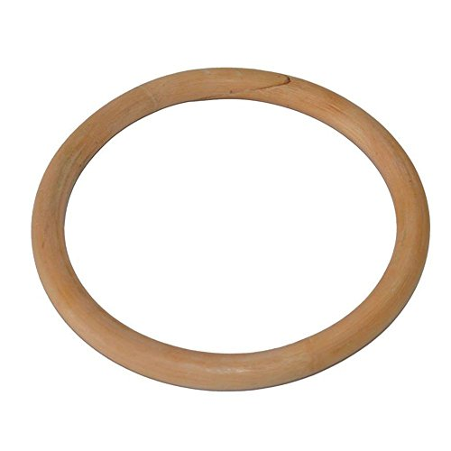 Rattan-ring (grofitness Wing Chun Taiji Rattan Ring Holz yewen Sau Sticky Hand Krafttraining Ring, 25,4x 21,6cm)