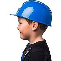 Grazioso elmetto da Operaio per Bambini   Bambine   Blu   Fantastico  Accessorio per Travestimento da ad5ec9f91c1c