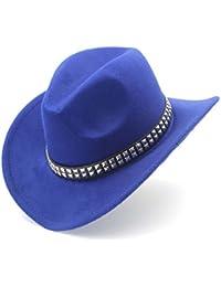629c95c78cf7f Amazon.es  Azul - Sombreros cowboy   Sombreros y gorras  Ropa