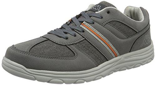 Kappa Foggy, Sneakers Basses Homme Gris (Grey/l'grey)