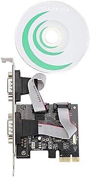 2 (2) 9 دبابيس Rs-232 المنفذ التسلسلي PCI-E إلى سيريال، RS232 منفذين، Pci Express Single-Lane (X1) Pci Express