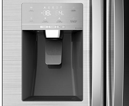 Side By Side Kühlschrank Geringe Tiefe : Hisense sbs a eliw side by side mit festwasseranschluss und