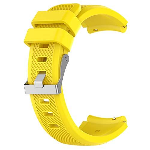 Omiky Twill - Cinturino Sportivo in Silicone Morbido per Orologio da Polso Huami AMAZFIT GTR 47 mm