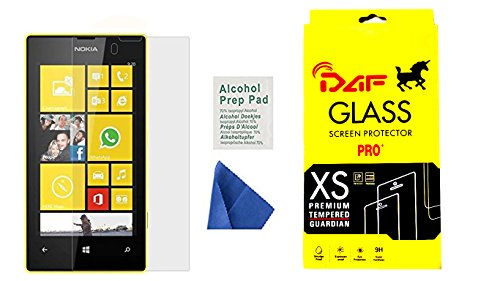 Mobile Shringar Nokia Lumia 520 & 525 Tempered Glass Screen Guard