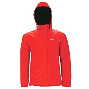 2117 OF SWEDEN RÖDBERG Outdoor Rain Jacket 2013 Damen Outdoorjacke 8.000mm Wassersäule 8012904 (RED - rot, 34)
