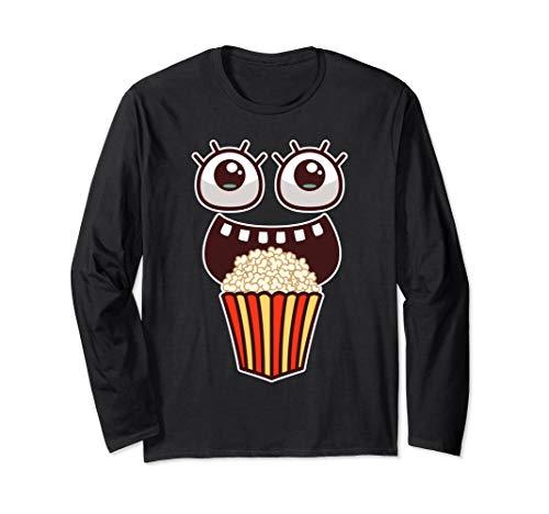 Kawaii Augen Popcorn Monster Filme Pop Corn Kostüm Geschenke (Junk Food Kostüm)