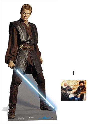 Preisvergleich Produktbild Anakin Skywalker von Star Wars Lifesize Lebensgrosse Pappaufsteller mit 25cm x 20cm foto