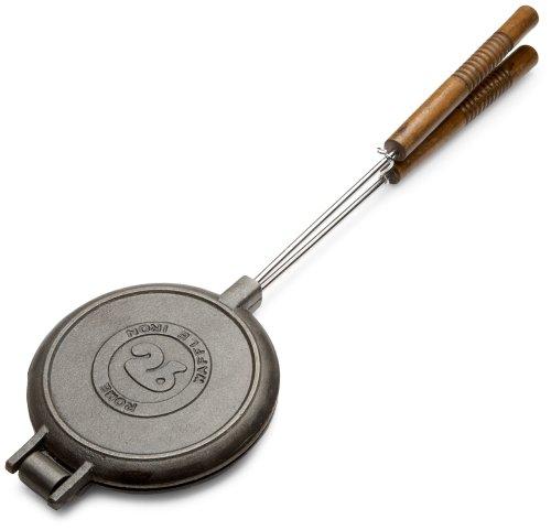 Rome\'s 1028 Chuckwagon Waffle Iron, Cast Iron