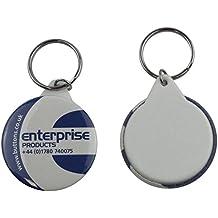 Enterprise Products - Set de piezas para hacer 250 llaveros - 45mm