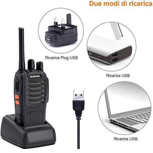 Zoom IMG-3 walkie talkie 2pz 16 canali