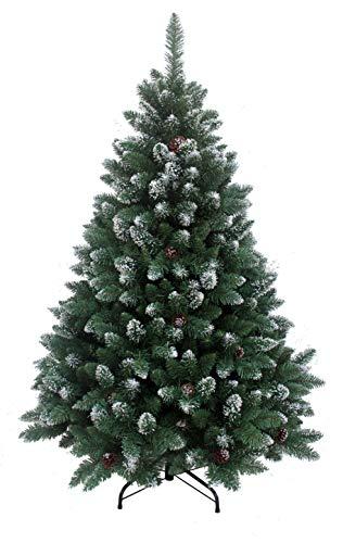 RS Trade Weihnachtsbaum mit beschneiten Spitzen
