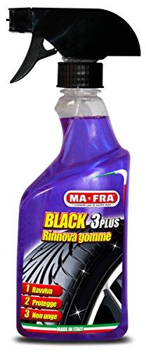 Ma-Fra, Black 3 Plus, Rinnova Gomme, Spray 500 m