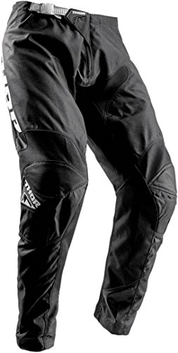 NEU MOTORRADHOSE ~ THOR SECTOR MX OFF ROAD HERREN MOTOCROSS HOSE, QUAD ENDURO DIRT BIKE HOSEN - Black - 4XL/42
