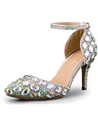 Minitoo MinitooEU-MZ8299 - Zapatos de Vestir de Material Sintético Para Mujer