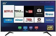 تليفزيون ذكي هايسنس 65 بوصة بدقة 4 كيه 65A6100UW