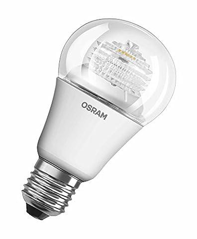OSRAM LED Superstar Classic A / LED-Lampe in Kolbenform mit E27-Sockel / Dimmbar / Ersetzt 60 Watt / Klar / Warmweiß - 2700 Kelvin / 1er-Pack