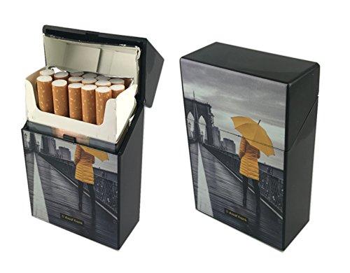 Offre Lagiwa - Etui à paquet de 20 cigarettes couleur au choix avec 1 cadeau bonus (New York 1)