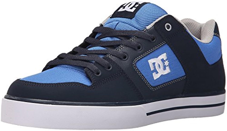 DC Men'S Pure Action Sport Sneaker, Azul Marino/Gris, 39 D(M) EU/6 D(M) UK
