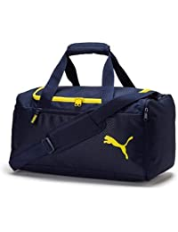 cab245354 Puma Fundamentals Sports Bag M - Bolso, Unisex Adulto, Azul (Peacoat),
