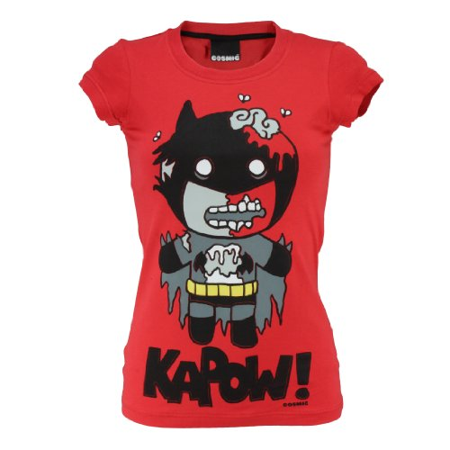 Cosmic Girl-Shirt BATZOMBIE warning red warning red
