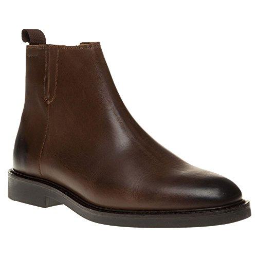 Gant Spencer Zip Homme Boots Marron Marron