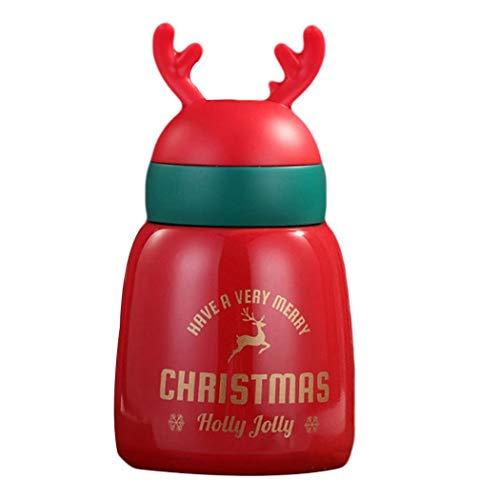 Botellas térmicas navideñas (6 diseños) por sólo 10,56€ con el #código: 76FIINIR