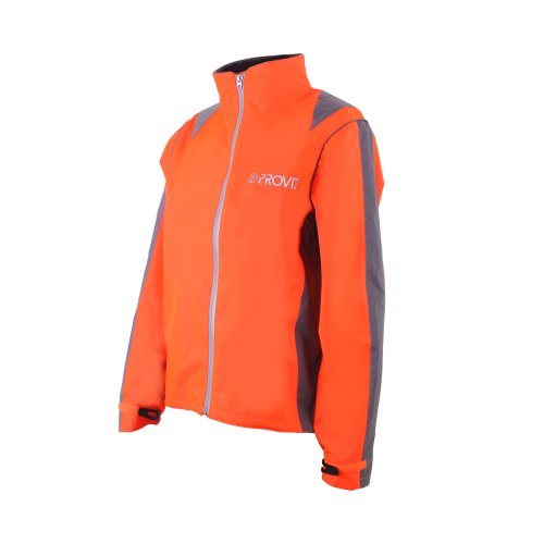 Proviz Nightrider Wasserdicht Cycling Damen Fahrrad Jacke 16 Orange