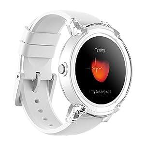 Ticwatch E Express – Reloj inteligente con pantalla táctil OLED,