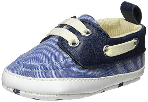 ZIPPY Znbs01_455_2, Mocassins (Loafer) bébé garçon, Bleu (Blue Chambray 1177), 15 EU