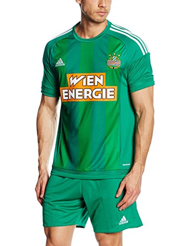 adidas Herren Trikot Sk Rapid Wien Heim Replica Bold Green/White, XL