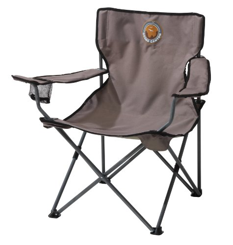 Grand Canyon Director- Silla de camping plegable, acero, gris/negra