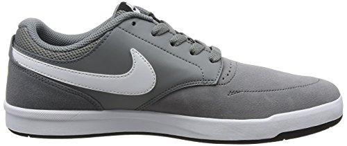 Nike SB Fokus, Scarpe Sportive Uomo Grigio (Cool Grey/white Black)