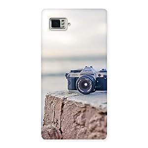 Cute Camera on Rock Multicolor Back Case Cover for Vibe Z2 Pro K920