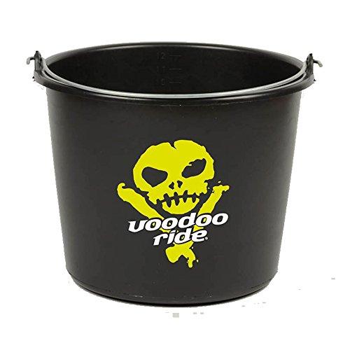 Voodoo Ride Emmer zwart Eimer 10 L - Schwarz mit Logo, Yellow