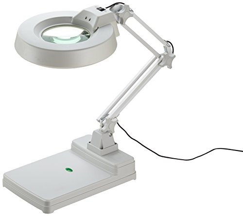 Laron S3103 Neon Lupenlampe 22 Watt 8 Dioptrien Kosmetikleuchte Vergrößeung 200%