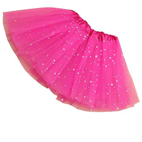Reciy Sparkle für Mädchen Prinzessin Ballett Dance Layered -