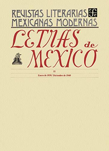 Letras de México II, enero de 1939 - diciembre de 1940