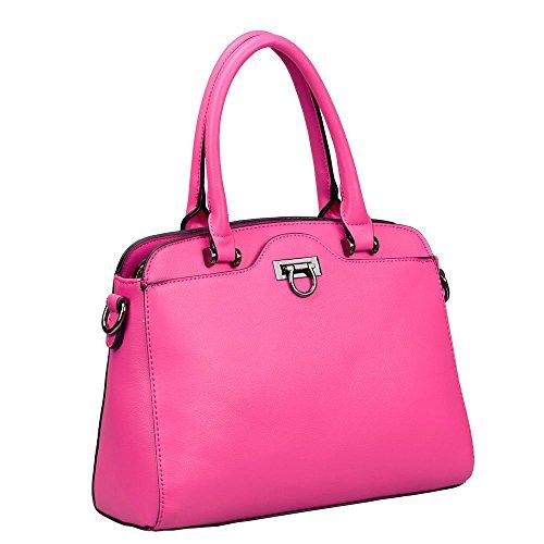 HB Style , Damen Tote-Tasche Mehrfarbig Mehrfarbig Mulberry Purple