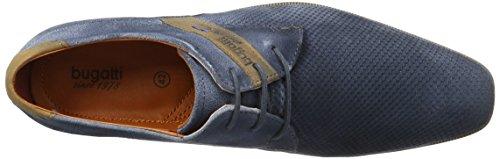 Bugatti 311189031400, Derby Homme Bleu (Dark Blue 4100)