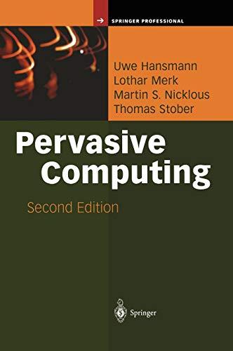 Pervasive Computing: The Mobile World (Springer Professional Computing) Cdma-pda