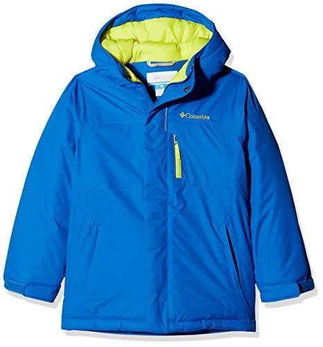 Columbia Chaqueta de esquí para niño, Alpine Free Fall, Azul (Super Blue, Zour), Talla XL