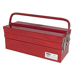 Wurko TT5720 Caja para Herramientas, Rojo, 55 cm