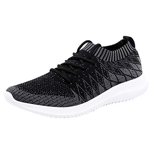 catmoew Herren Freizeitschuhe Laufschuhe Super Leicht Weben Turnschuhe Männer Lässige Schuhe Gewebte Schuhe Turnschuhe Sneakers